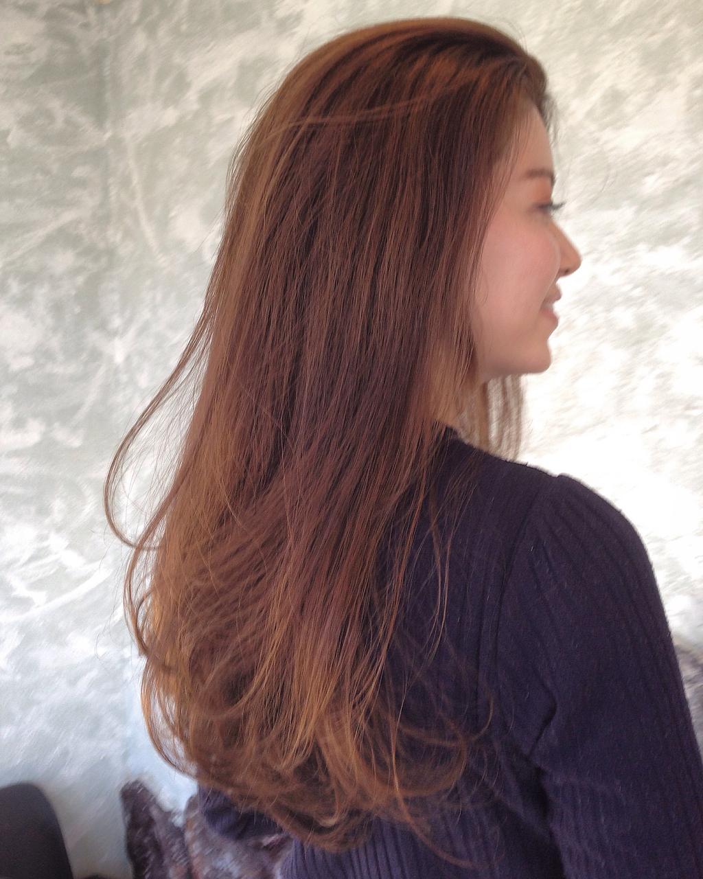 髪が育てば 簡単に束感!